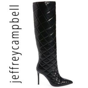 ⚡️SALE⚡️Jeffrey Black Arsen Knee High Boots